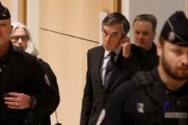 France ex-PM Fillon awaits verdict over corruption case