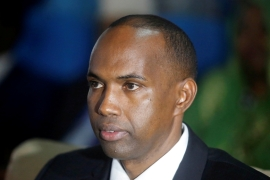 Somalia's president has accepted the decision to remove Khaire, citing the need to preserve the unity of various arms of government [File: Feisal Omar/Reuters]