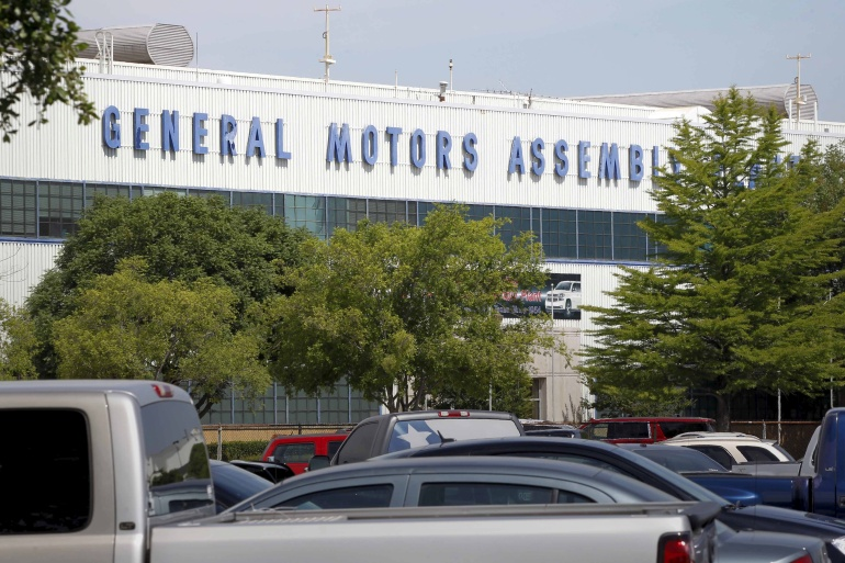 GM's chief executive, Mary Barra, said the company had worked with the non-profit Environmental Defense Fund to 'develop a shared vision of an all-electric future' for its vehicles [File: Mike Stone/Reuters]