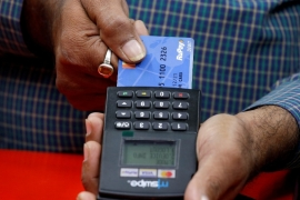 RuPay has been endorsed by Prime Minister Narendra Modi who has likened its use to a national duty [File: Rupak De Chowdhuri/Reuters]