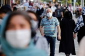 Iran has been battling a resurgence of COVID-19, with a rise in new infections and deaths [Abedin Taherkenareh/EPA-EFE]