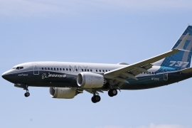 A US House committee identified many deficiencies in the Federal Aviation Administration approval process for the 737 Max [File:Elaine Thompson/The Associated Press]