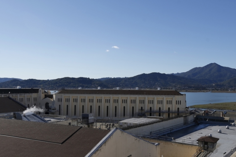 San Quentin State Prison has seen coronavirus cases more than double in the past five days [File: Stephen Lam/Reuters]