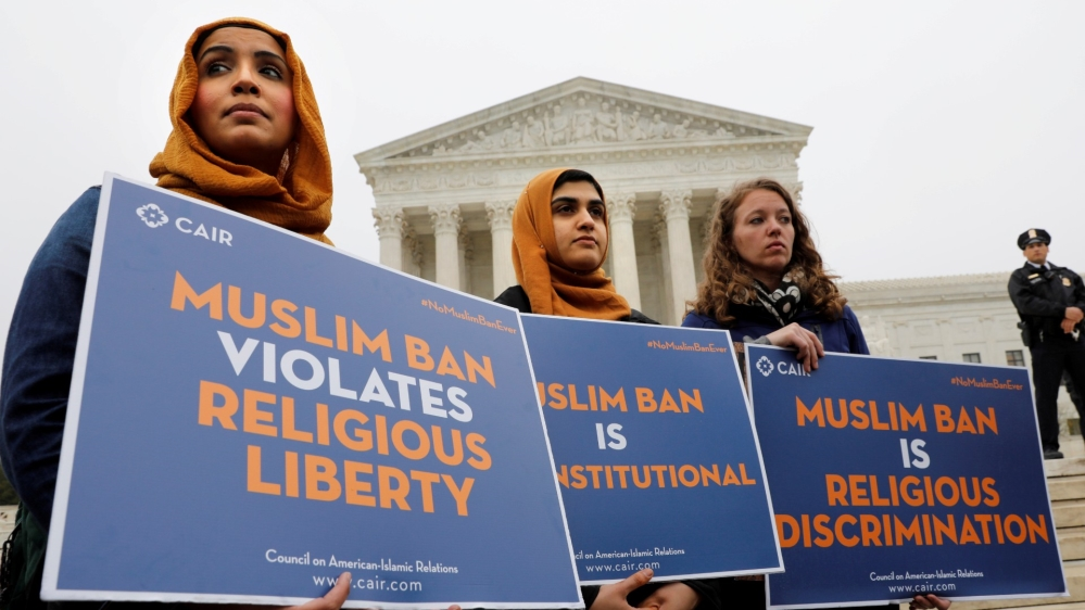 US House approves bill reversing Trump's 'Muslim ban' | Donald Trump News | Al Jazeera