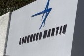A sign for Lockheed Martin Corp. stands outside the company''s headquarters in Bethesda, Maryland [Andrew Harrer/Bloomberg]