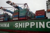 China's exports rebounded strongly in the third quarter after falling in the early months of the pandemic, and have posted year-on-year growth rates of nearly 10 percent [File: Michael Sohn/AP]