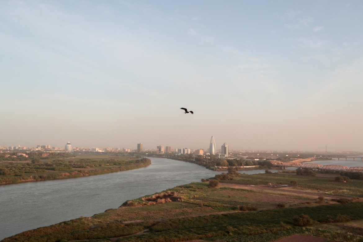 The confluence of the White Nile and the Blue Nile in Khartoum. [Zohra Bensemra/Reuters]