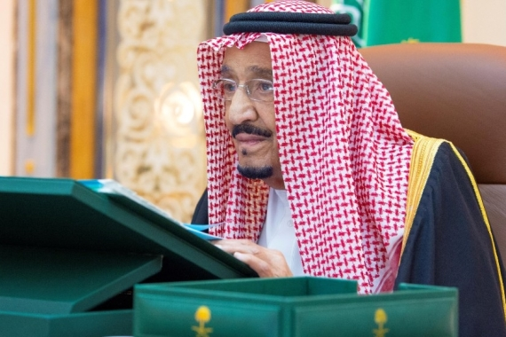 In a rare speech to the UN, King Salman urged world powers to tackle Tehran's 'expansionist activities' [File: Saudi Press Agency via Reuters]