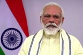 Narendra Modi said in August that India was ready to mass-produce COVID-19 vaccines when scientists gave the go-ahead [File: Narendramodi.in via AP]