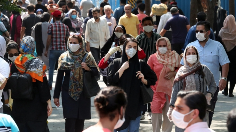 Tehran, Iran – Iran is now within the grip of a third major wave of COVID-19 infections and most of its 32 provinces are categorized as pink on a colour-coded scale denoting the severity, with the capital experiencing the severest outbreak.