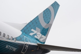 Boeing's 737 MAX returned to United States skies in late December with a flight from Miami to New York City [File: Bloomberg]