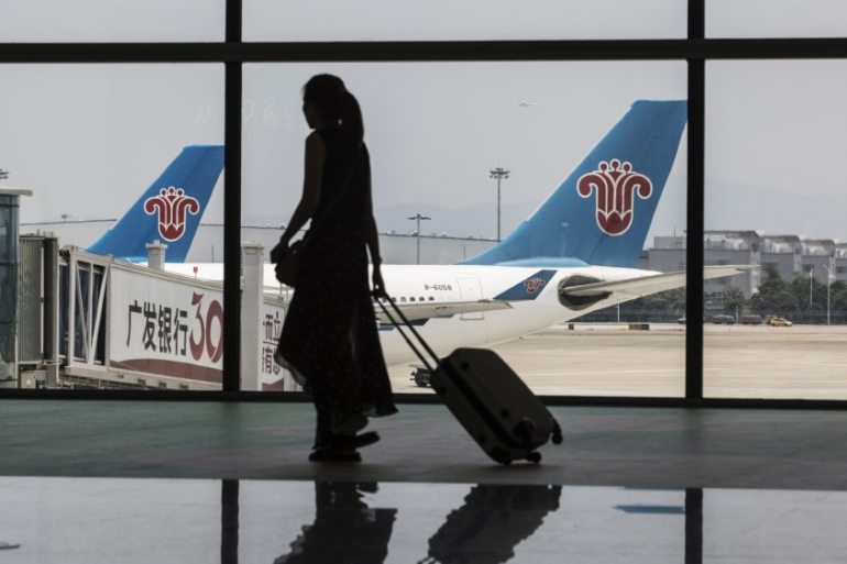 China Southern, the country's biggest carrier by passengers, is one of several domestic airlines offering customers unlimited, or nearly unlimited, flights for a one-time fee to help boost revenue [File: Qilai Shen/Bloomberg]