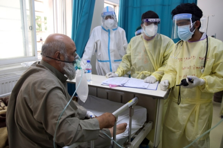 More than 36,500 people have been infected with the new coronavirus in Afghanistan [File: Rahmat Gul/AP]