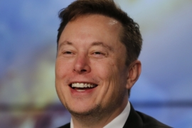 Pushing Elon Musk's Tesla all at once in the S&P 500 would force index-tracking funds into serious contortions [File: Joe Skipper/Reuters]