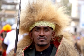 Ethiopian musician Haacaaluu Hundeessaa was assassinated on June 29 in Addis Ababa, Ethiopia [File: Reuters/Tiksa Negeri]