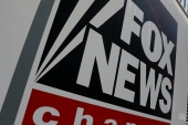 A Fox News channel sign is seen on a television vehicle outside the News Corporation building in New York City, US, November 8, 2017 [File: Shannon Stapleton/Reuters]