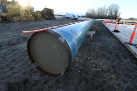 The Canadian government bought the Trans Mountain oil pipeline to ensure its expansion [File: Candace Elliott/Reuters]