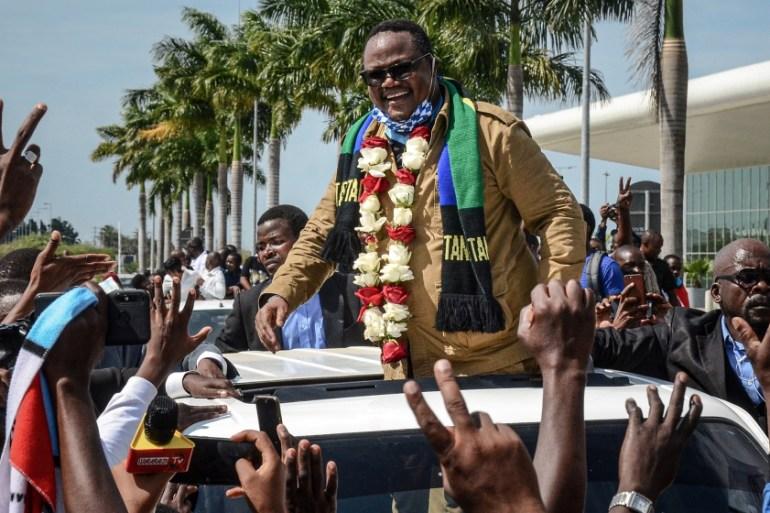 Tanzania opposition figure Tundu Lissu returns from exile | Tanzania | Al Jazeera
