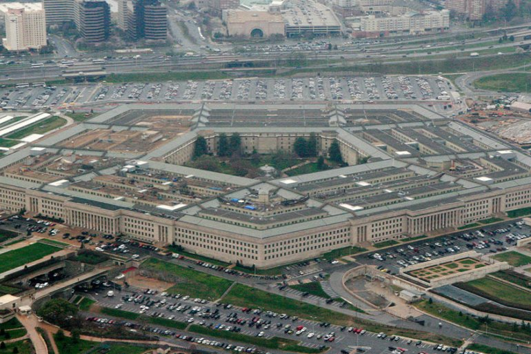 The Pentagon, headquarters of the United States armed forces, in Washington, DC [File: Charles Dharapak/AP Photo]
