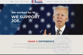 Prominent Republicans promise to back Biden in election