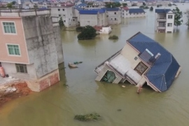 Climate change blamed for China flood disaster