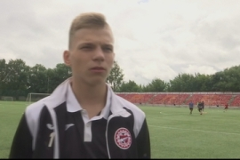 Russian teenager playing football again after struck by lightning