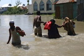 Nearly one-third of Bangladesh affected by monsoon floods