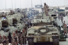 A major long-term effect of the first Gulf War was that it paved the way for greater US security and military presence in the region [File: Gerard Fouet/AFP]