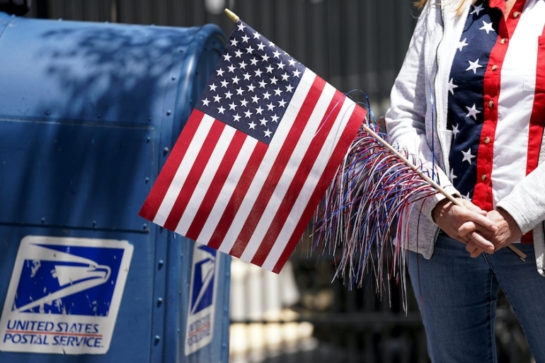 Voting by mail is expected to increase dramatically this fall due to the coronavirus pandemic, and United States President Donald Trump has claimed without evidence that absentee voting leads to rampant fraud [File: Kevin Lamarque/Reuters]