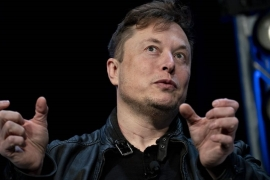 Controversy surrounding animal testing and Elon Musk's high profile have made Neuralink a target for criticism from animal-rights activists [File: Andrew Harrer/Bloomberg]