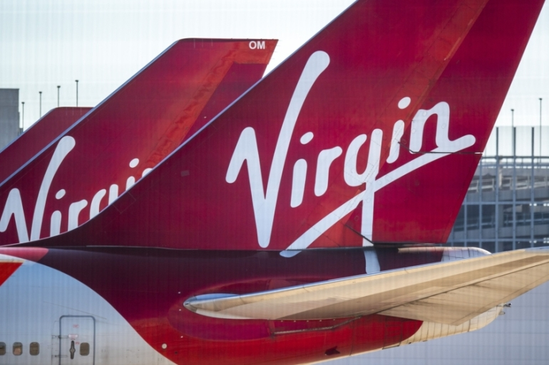 Virgin Atlantic's move to file for Chapter 15 bankruptcy would protect the airline against creditor claims while it works on a turnaround plan at its UK base [File: Anthony Devlin/Bloomberg]