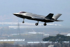 Concerns have been raised that Israel abandoned its opposition to UAE sales of F-35 advanced fighter jets [Kang Jong-min via AP]