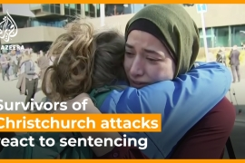 Survivors of Christchurch attacks react to sentencing  [Daylife]