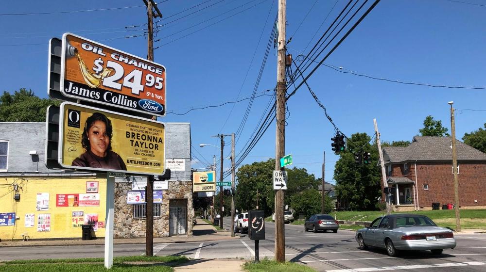 Oprah Demands Justice For Breonna On Billboards Across Louisville Us Canada Al Jazeera