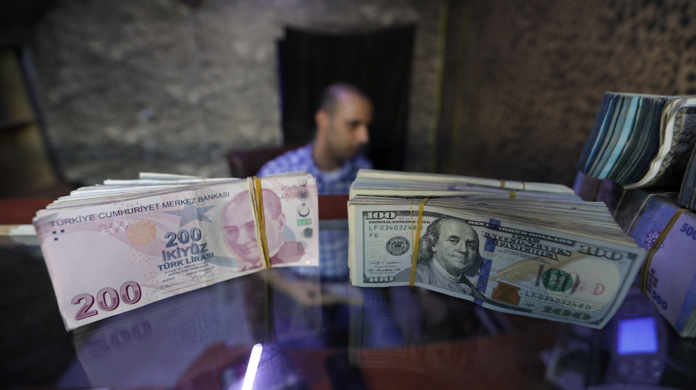 Turkey leaves interest rates unchanged, nods to lira weakness