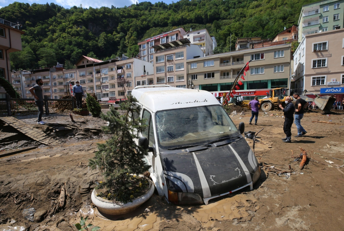 The flash floods killed six people. [AP Photo]