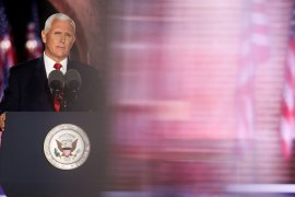 Pence claims US victory over coronavirus, condemns racial unrest