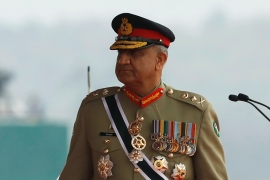 Army chief General Bajwa orders probe into claims that provincial police chief was forced to arrest ex-PM's son-in-law [File: Akhtar Soomro/Reuters]