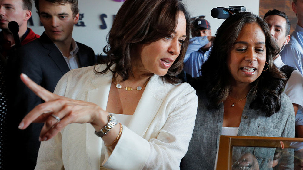 Kamala Harris Is Influenced By Her Indian And Jamaican Heritage India Al Jazeera