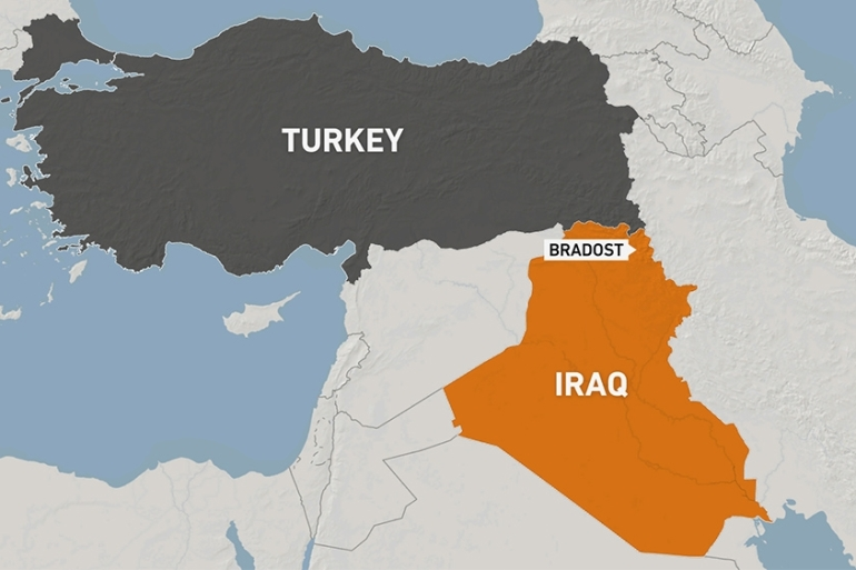 Officials called it a 'blatant Turkish drone attack' in the autonomous Kurdish region in northern Iraq [Al Jazeera]