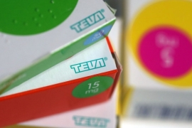 Investors have voice concerns about Teva's mounting legal exposure in both generic price-fixing investigation, as well as separate suits alleging the company played a major role in the opioid epidemic [File: Bloomberg]