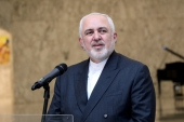 'You assisted Saddam with $75bn … and now you make claims?' Iran's Foreign Affairs Minister Mohammad Javad Zarif challenges European powers [File: Dalati Nohra via Reuters]