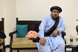 Hakim Alokozai says he has hand-delivered his COVID-19 treatment to tens of thousands of people across Afghanistan [Ali M Latifi/Al Jazeera]