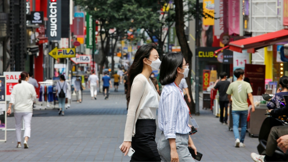 South Korea Sees Biggest Spike In Coronavirus Cases Since March Coronavirus Pandemic News Al Jazeera