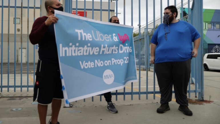 Uber, Lyft win in California's most expensive ballot measure ever