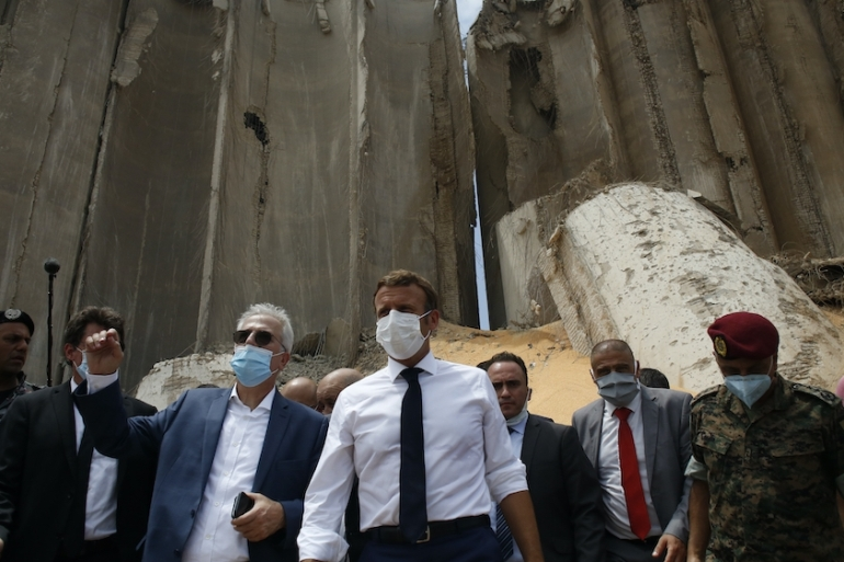 Macron Sends Economic Reform And Rescue Road Map To Lebanon France News Al Jazeera