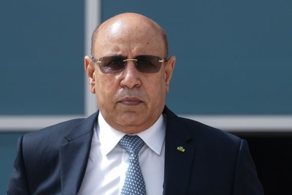 Mauritania President Mohamed Ould Cheikh El Ghazouani made the appointment hours after the previous government resigned [Ludovic Marin/Pool/Reuters]