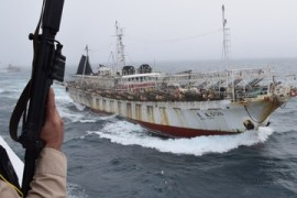 Argentina ramps up action against illegal fishing