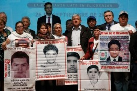 Relatives of Mexico's missing students still want justice