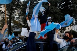 Argentina COVID-19: Protesters call on gov't to ease lockdown
